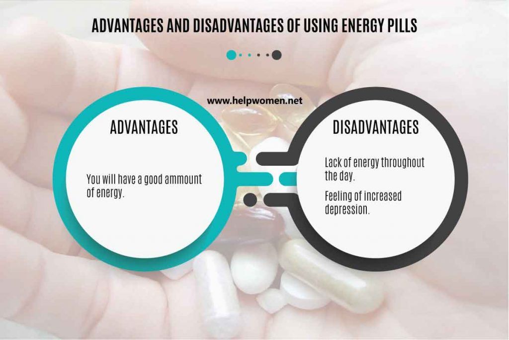 advantages-and-disadvantages of energy pills