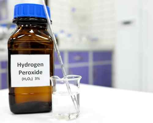 Is it safe to use Hydrogen peroxide for acne?